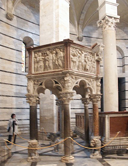 Images Of Pisano Pulpit Pisa Baptistry