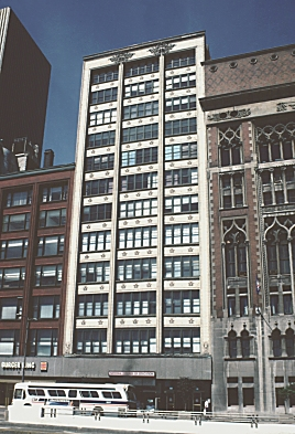 Images of Gage Building Chicago by Louis Sullivan 1898