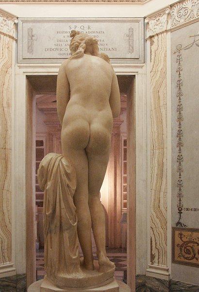 Images of the Capitoline Venus in the Capitoline Musuem Rome