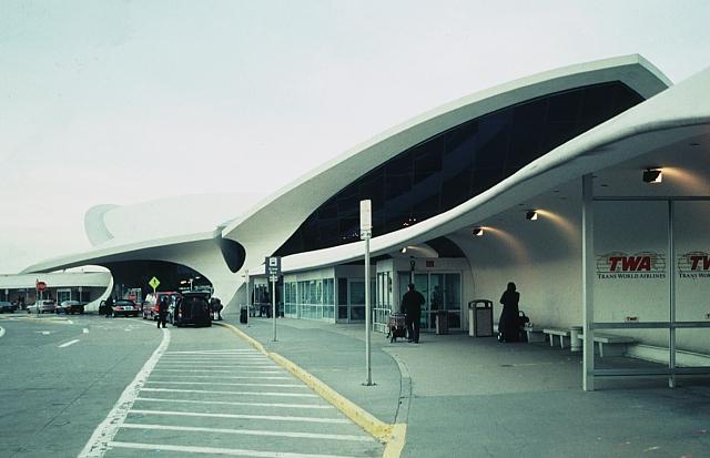 Eero Saarinen TWA Terminal J F Kennedy Airport NYC