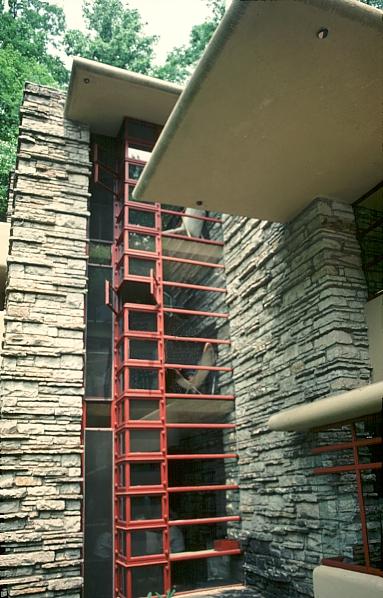 Images of Edgar J Kaufmann House Fallingwater by Frank Lloyd Wright
