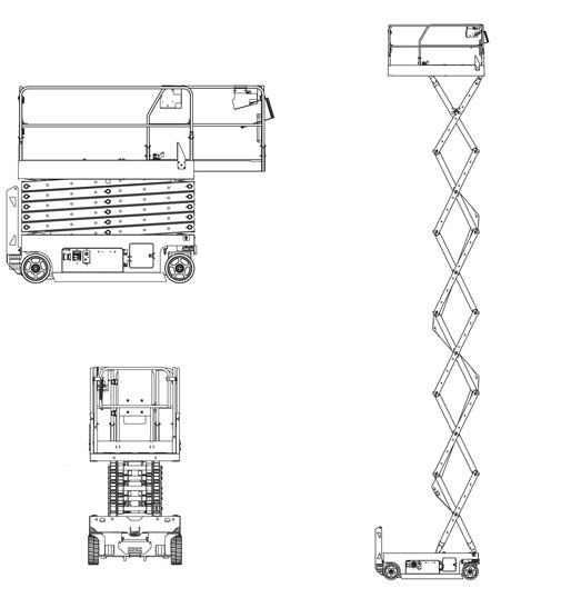 Scissor Lift Diagram Related Keywords & Suggestions