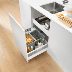 Blum Kitchen Bins Remodeling Small Narrow Sink Unit