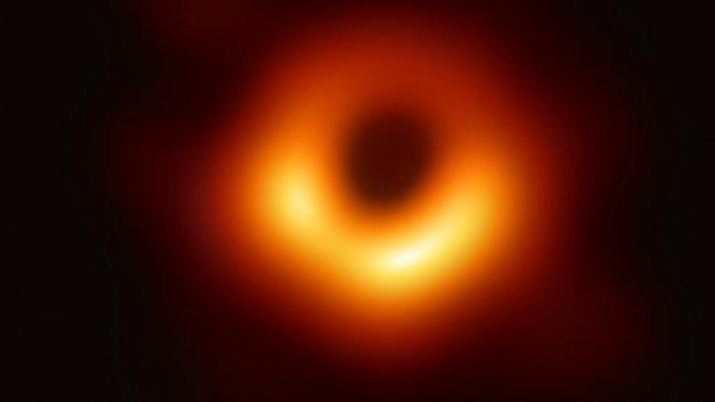 immagine vero buco nero