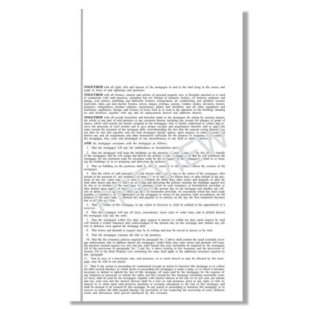 Blumberg New York Mortgage Real Estate Forms