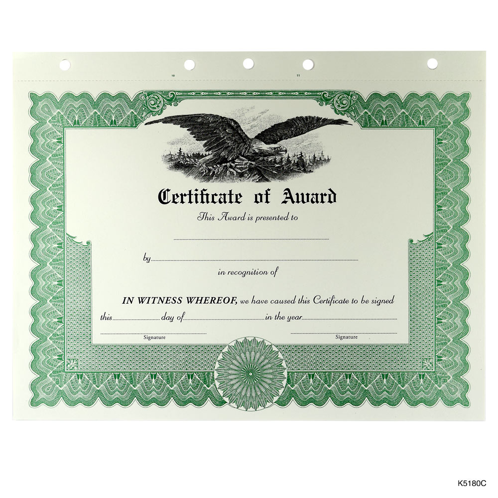 make printable certificates