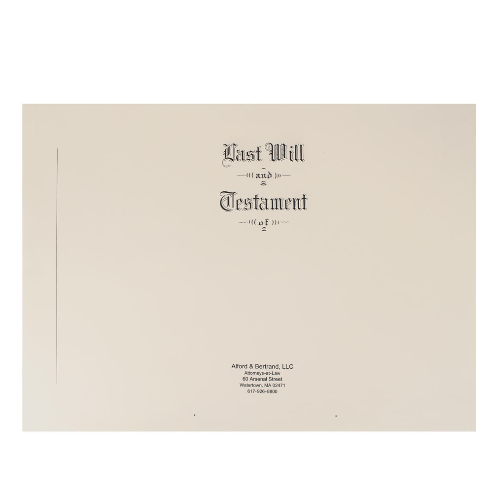 Save with Will Stationery Kit for 25 Wills