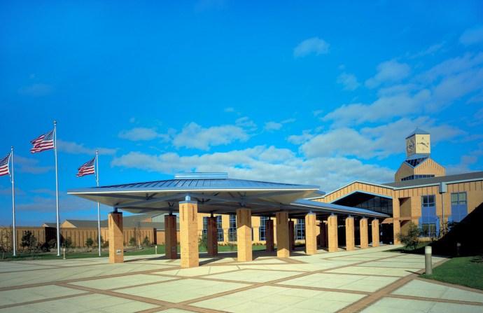 Atlantic City High School main entrance