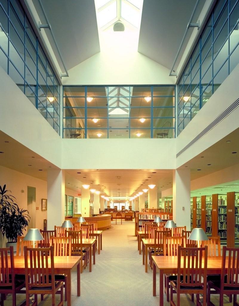 Atlantic City Public Library reading area