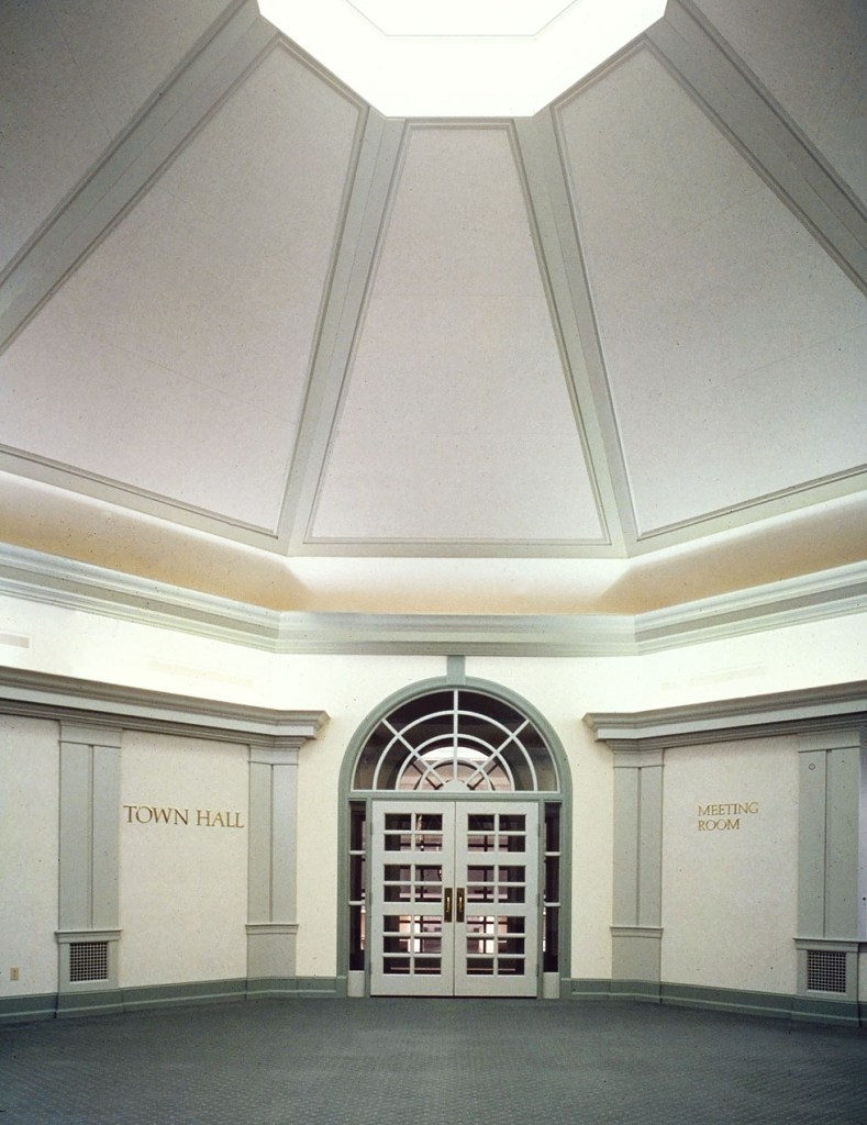 Hamilton Township Municipal Building entrance hall