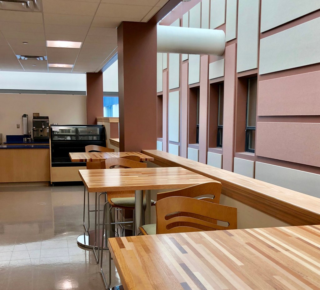 Atlantic Cape Community College dining room