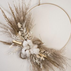 cotton flower hoop