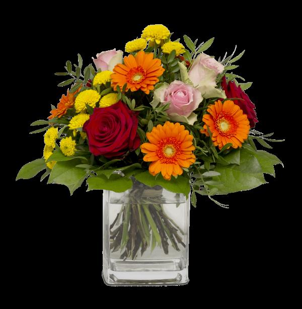 """Straußbild Die besten Glückwünsche Blumenstrauß """"Die besten Wünsche"""""""