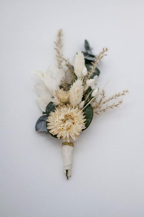 Trockenblumen Anstecker