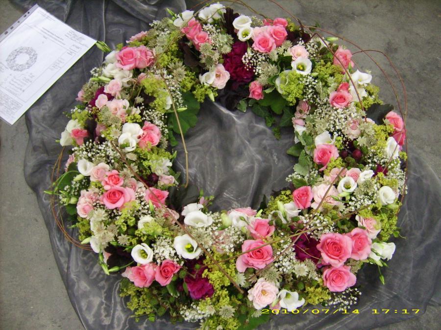 Blumen Kunstmann  Trauerkrnze vegetativ
