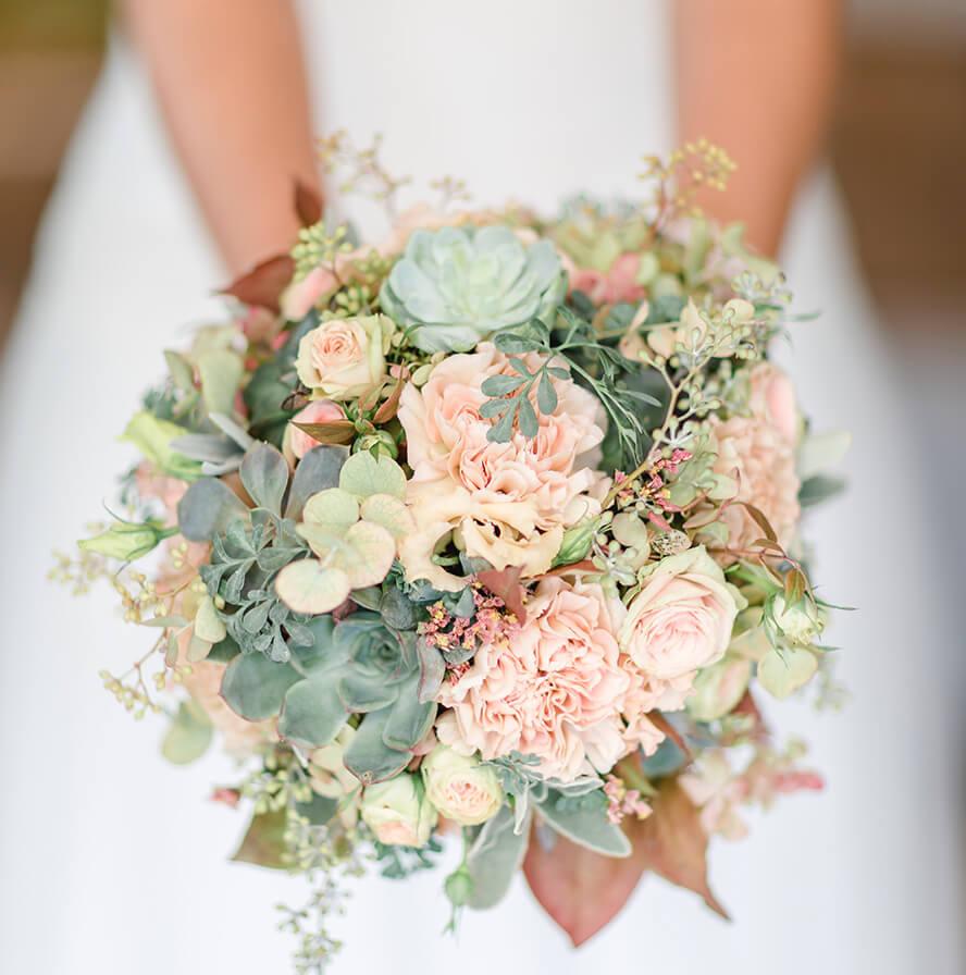 Brautstrau  Blumen Lehner