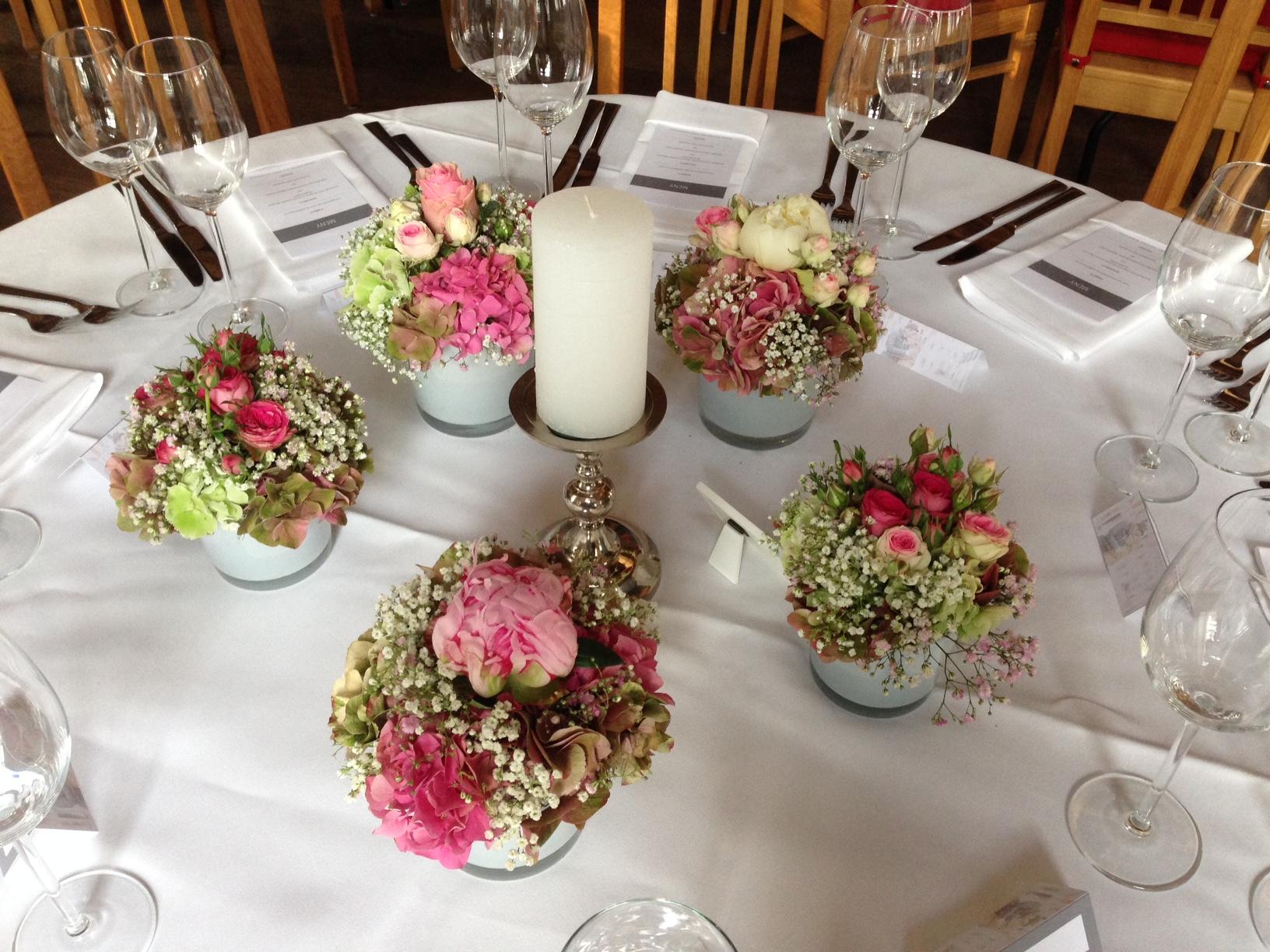 Hochzeitsdekorationen  Blumen Rampp