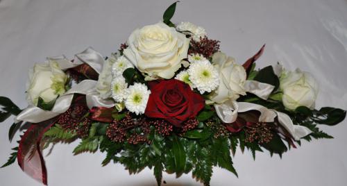 Blumengesteck Tisch 033 20111111 079  wwwblumenweilrodde