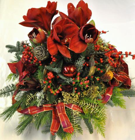 Blumengesteck Weihnachten 011b 20111220 066 X  wwwblumen