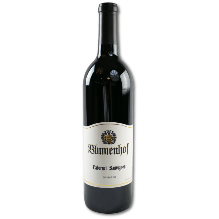 Cabernet Sauvignon - Dry Red Wine at Blumenhof Winery