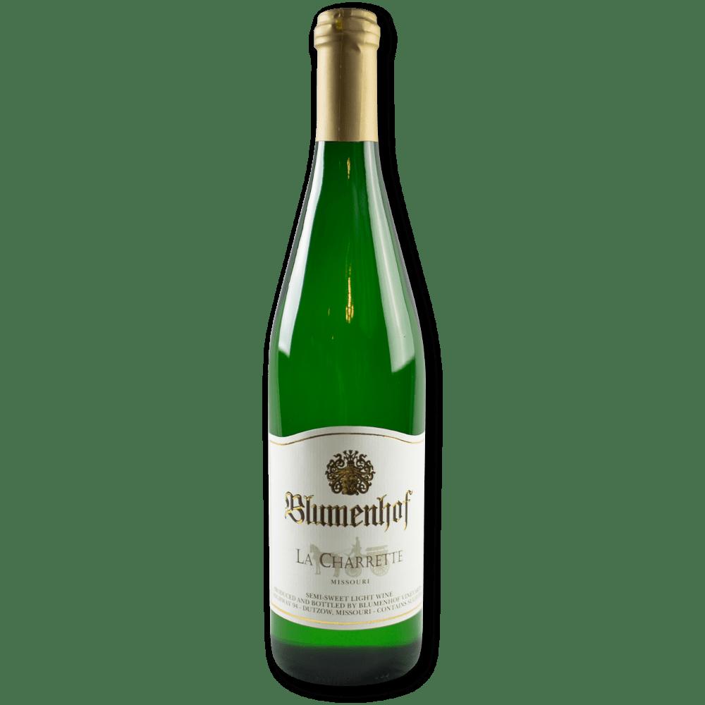 La Charrette - Semi Sweet White Wine at Blumenhof Winery