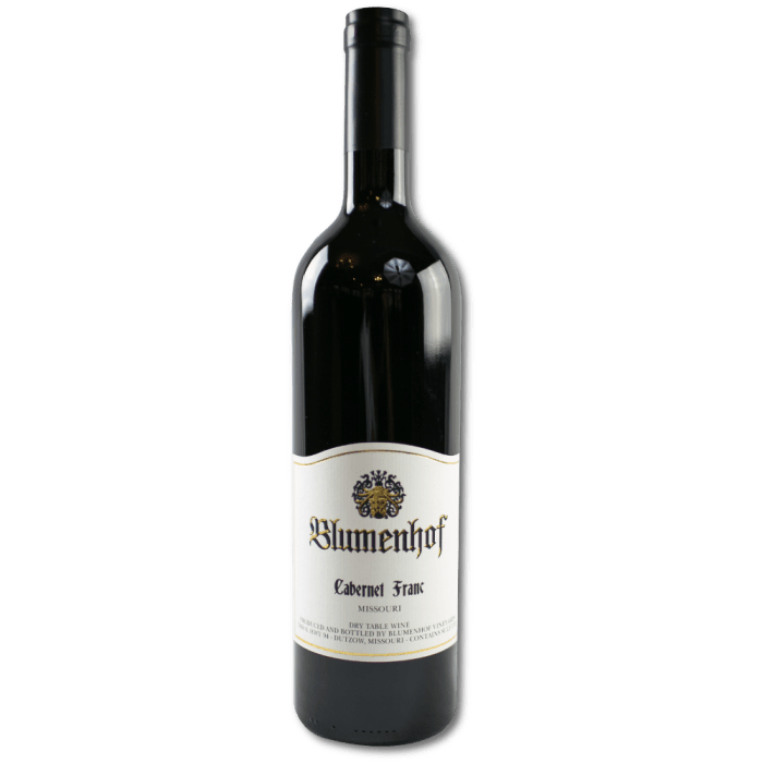 Cabernet Franc - Dry Red Wine at Blumenhof Winery