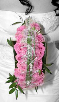 Brautstrue Brautstrau Hochzeit flieender in ros