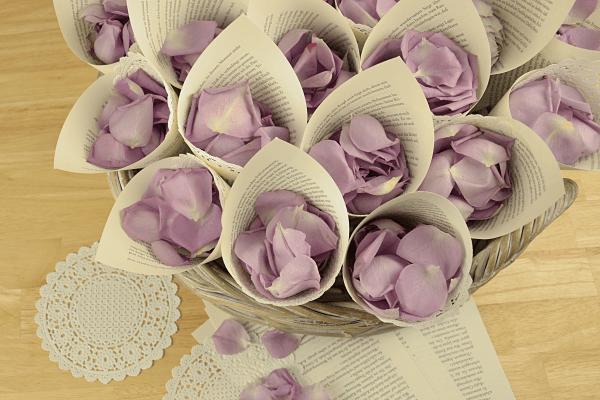 Streublumen Hochzeit Blumenversand Edelwei
