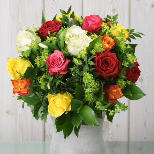 Blumenstrau Lass Blumen sprechen  Blumenversand Edelwei