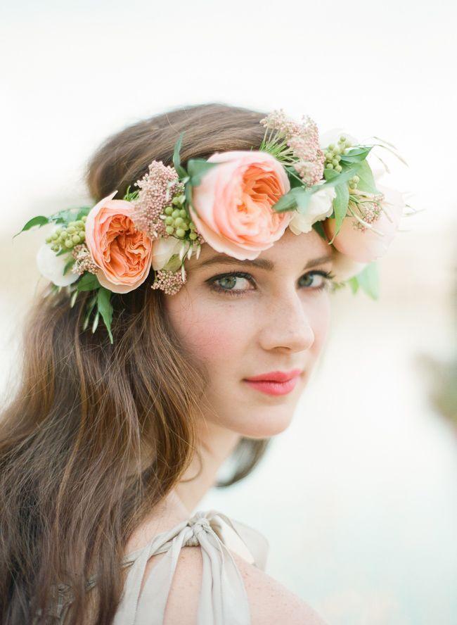 Flower Crown Photo Shoot Part 2 Blum Floral Design