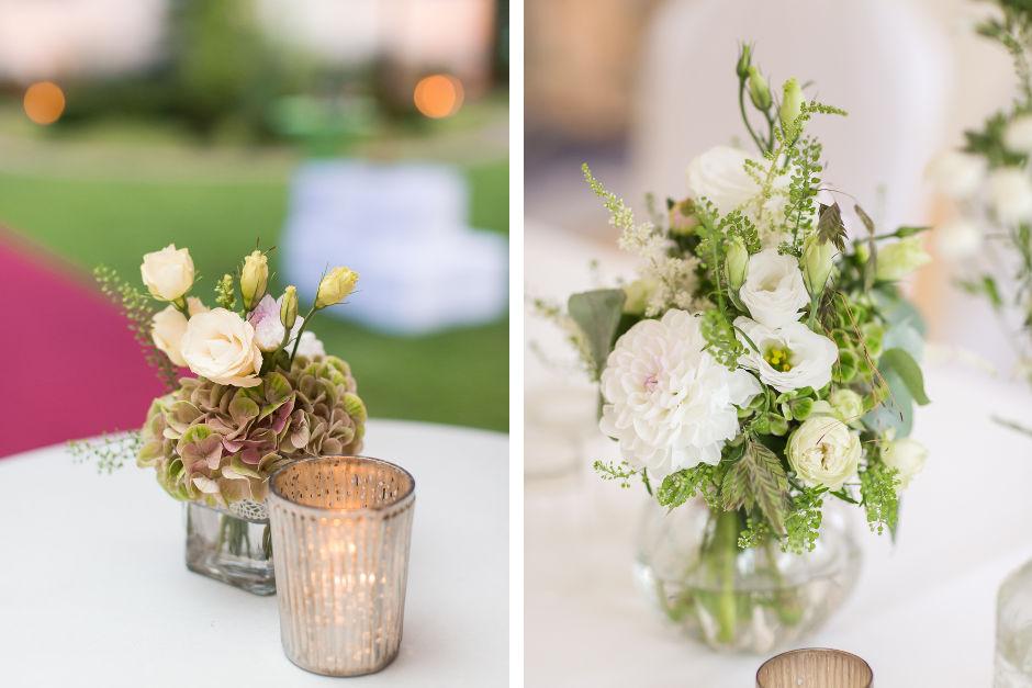 Kleine Blumengestecke Hochzeit