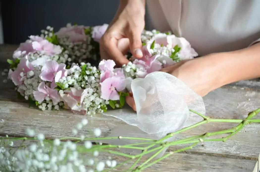 Kirchendeko zur Hochzeit selber machen  ein