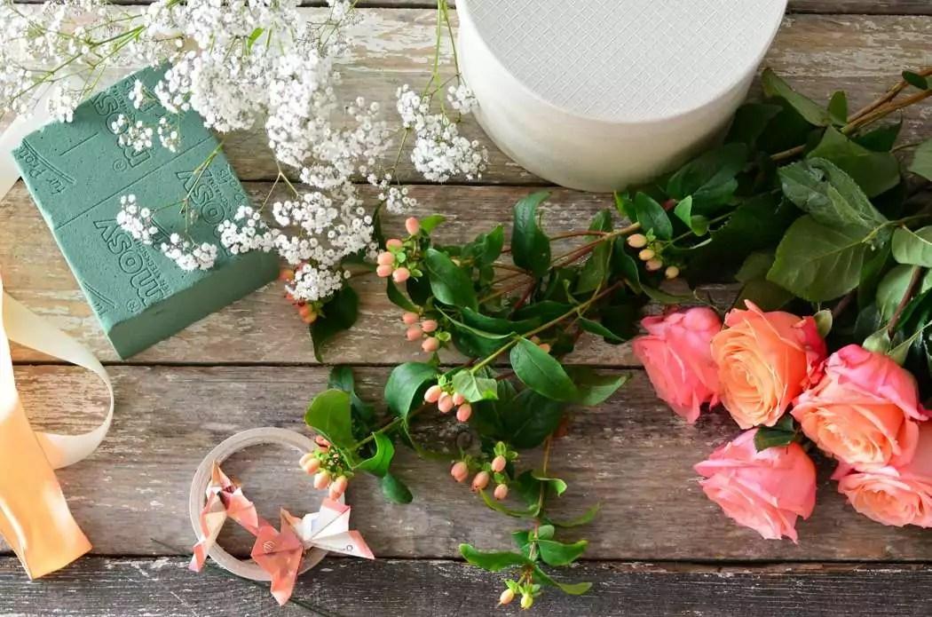 Geldgeschenke originell verpacken  eine blumige Flowerbox