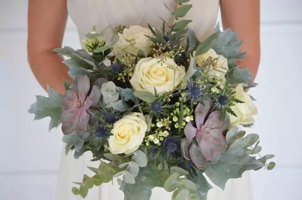 Hochzeitsstrauss Eukalyptus