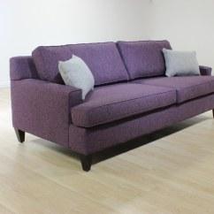 Plum Leather Sofa Sectional Sofas Condo Size Toronto Sugar  Blum 39s Furniture Co