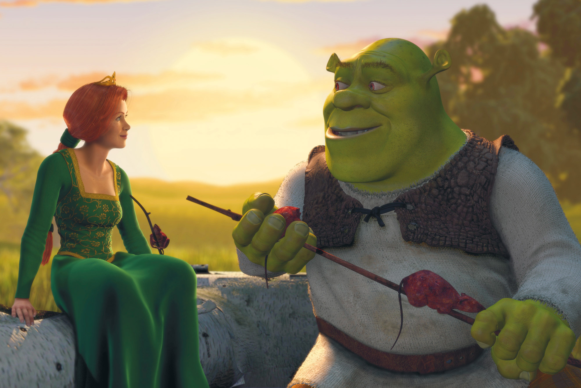 Falling Weed Wallpaper Blu Ray Review Shrek Anniversary Edition Blu Ray