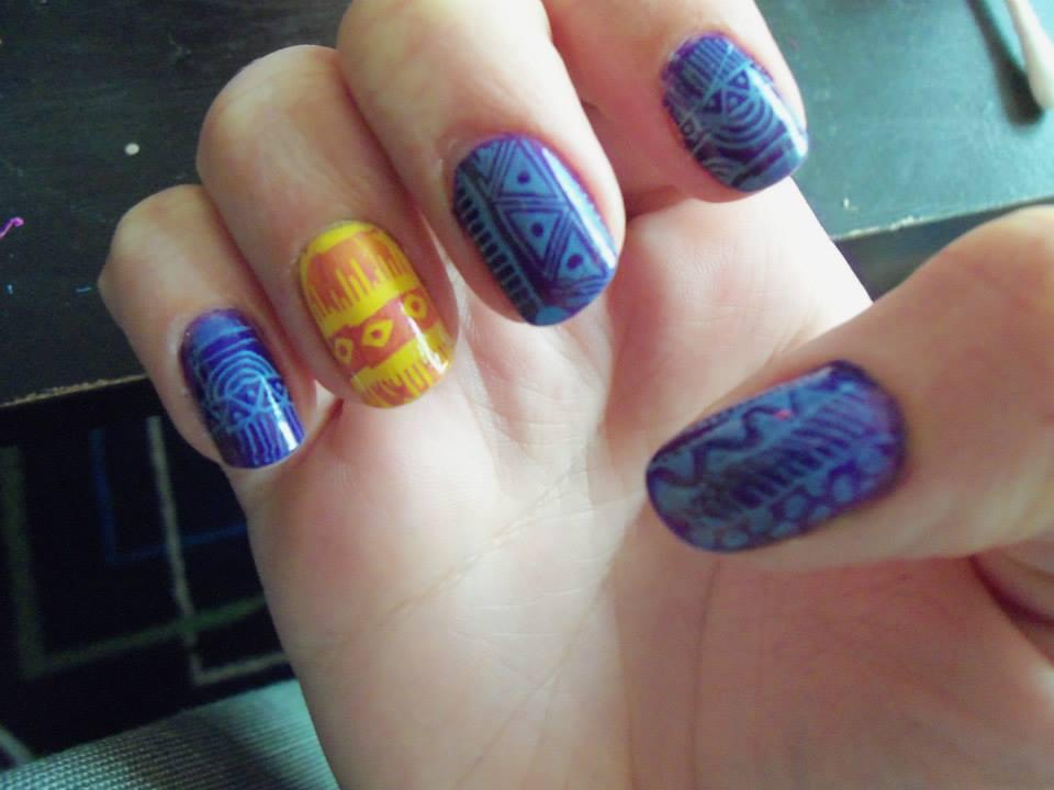 tribal nail design cute tribal nail design 84 cute
