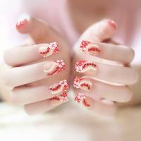 84 Attractive Wedding Nail Art Design Ideas For Brides ...