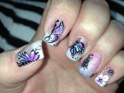 awesome butterfly nail art ideas