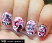 amazing mother's day nails - blurmark