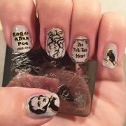 creepy nail art design ideas