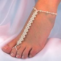 Bridal Barefoot Sandals Foot Jewelry Wedding