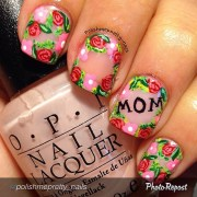 beautiful mother's day nails