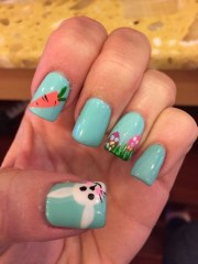 easy easter nail art ideas