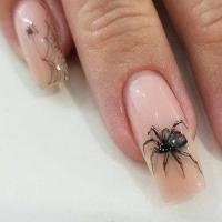 65 Creepy Nail Art Design Ideas For 2017 Halloween