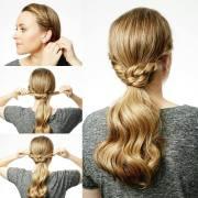 glamorous ponytail hairstyles