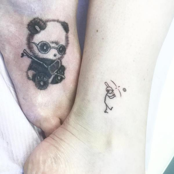 20 Panda Bear Finger Tattoos Ideas And Designs