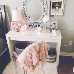 Small Chair Mat Video Game Best Buy 55 Great Makeup Vanity Decor Ideas To Adorn Your Home In Style