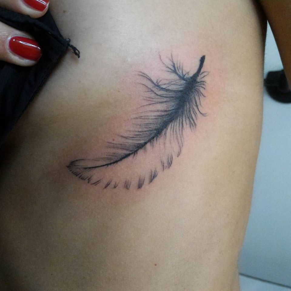 64 Simple And Beautiful Feather Tattoo Idea For Fashion Forwards
