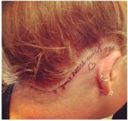 popular hairline tattoo ideas